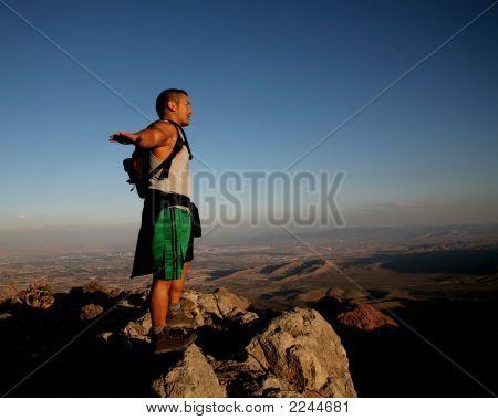 Succesful Hiker