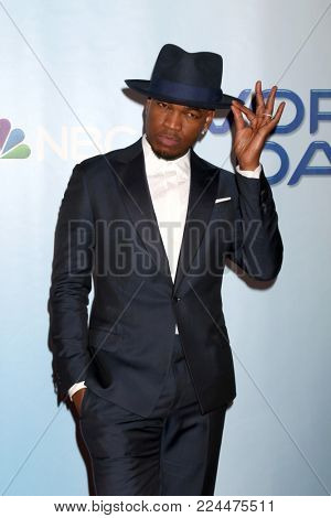 LOS ANGELES - JAN 30:  Ne-Yo, Shaffer Chimere Smith at the