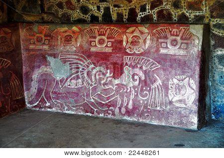 Jaguar Mural - Teotihuacan