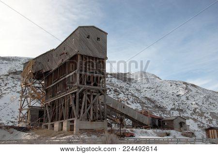 Atlas Coal Mine, East Coulee, Alberta, February 11th, 2011
