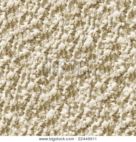 Seamless polyfoam (foam plastic) texture closeup background - texture pattern for continuous replicate.
