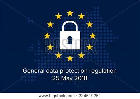 General Data Protection Regulation (GDPR) on european background