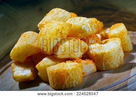 Cassava, traditional Brazilian food