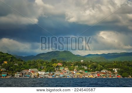 Labuan Bajo - fishing town located at the western end of Flores in the Nusa Tenggara region of east Indonesia