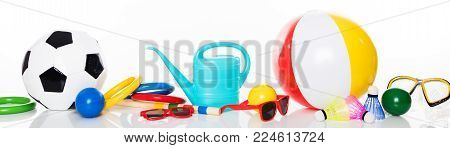 Various Summer Toys For Leisure Activities