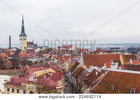 Panorama Of The City From Toopmea Hill.