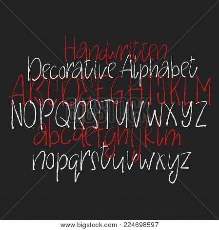 Decorative Alphabet Vector & Photo (Free Trial)   Bigstock