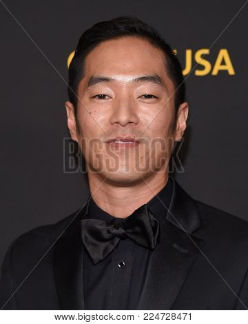LOS ANGELES - JAN 27:  Leonardo Nam arrives for the G'Day USA Gala 2018 on January 27, 2018 in Los Angeles, CA