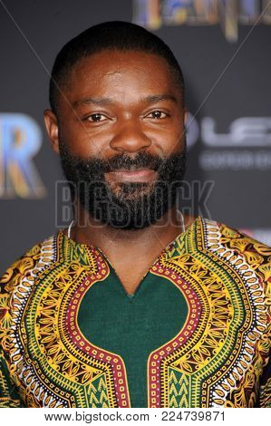 David Oyelowo at the World premiere of Marvel's 'Black Panther' held at the El Capitan Theatre in Hollywood, USA on January 29, 2018.