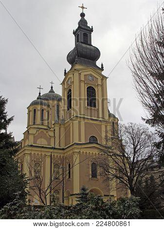 Serb Orthodox Cathedral in Sarajevo, Bosnia and Herzegovina