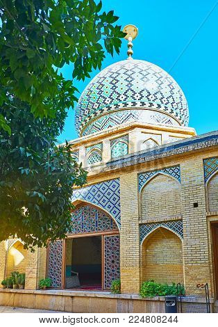 The Traditional Building Of Imamzadeh Jalal Addin Shrine, Located Next To Nasir Ol-molk Mosque In Sh