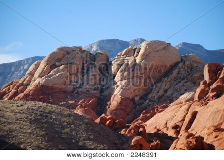 Landscape of Red Rock Canyon