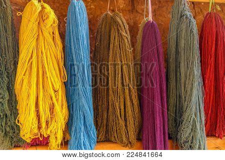 Colourful, Alpaca Wool, Peru