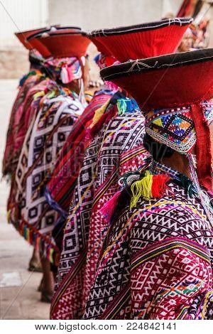 Pisac Market, Folklore, Peru