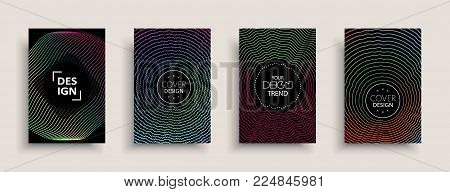 2763610 Cover Design Template, Set With Abstract Fluid Colors. Business Modern A4 Page Layout. Color