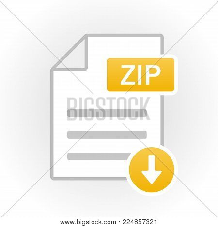 Pdf Icon Isolated. File Format. Vector