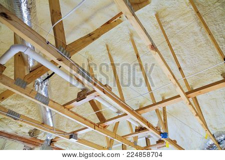attic renovation and thermal insulation attic heating and cooling