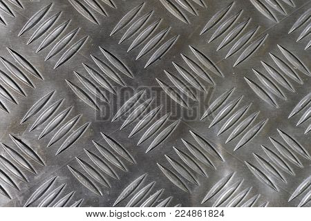 Natural metal pattern of polyhedra, use for background.