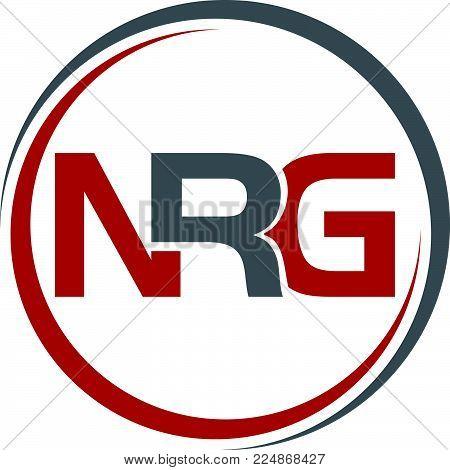 Letter N R G Logo Design Template Vector Isolated