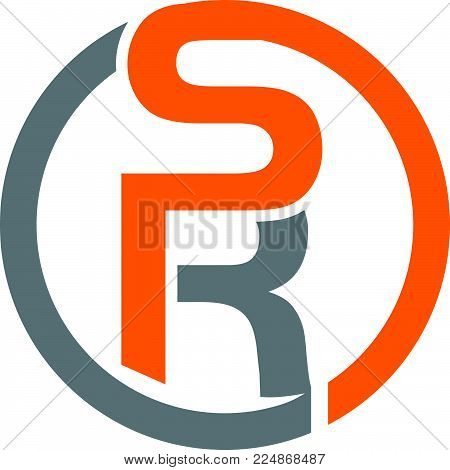 Letter S R Logo Design Template Vector Isolated