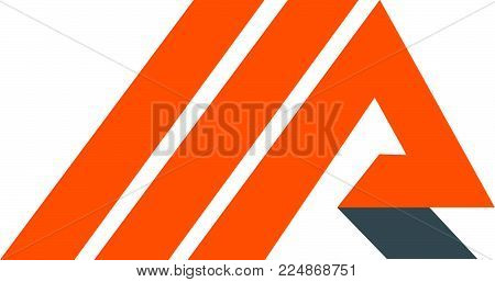 Letter M R Logo Design Template Vector Isolated