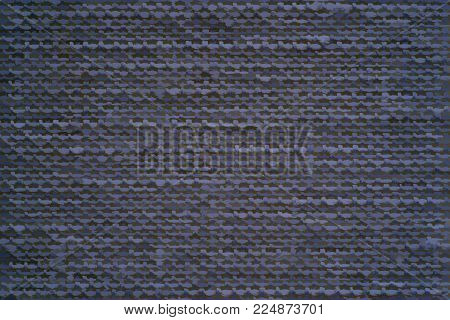 Illustration Of Abstract Speckled Texture Of Fabric Or Textile Material Of Blue Color Indigo For A B