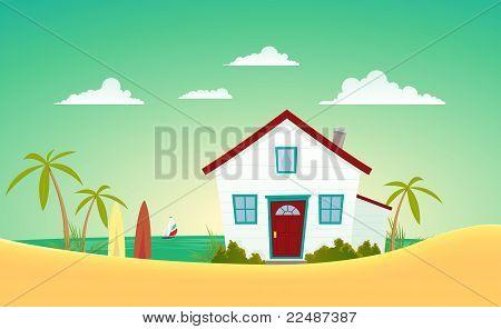 House Of The Beach