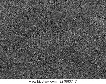 Seamless stone texture. Gray venetian plaster background seamless stone texture. Traditional venetian plaster rock stone texture grain pattern drawing. Gray background grunge texture. Stone seamless