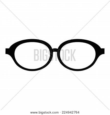 Accessory spectacles icon. Simple illustration of accessory spectacles vector icon for web