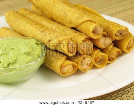 Taquitos And Guacamole 1