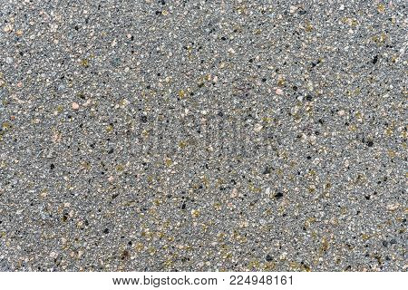 Texture of coarse asphalt is close, high detail background