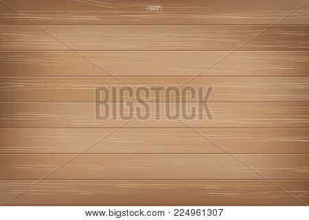 Wood Pattern And Texture Background. Vector Illustration.