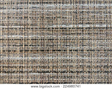 Colorful Abstract Intertwined Seamless Background. Rattan Seamless Braided Pattern