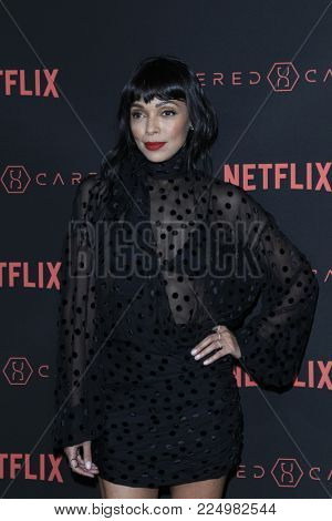 LOS ANGELES - FEB 1:  Tamara Taylor at the