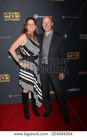 LOS ANGELES - FEB 2:  Jenni Magee-Cook, Stewart Cook at the 26th MovieGuide Awards at the Universal Hilton Hotel on February 2, 2018 in Universal City, CA