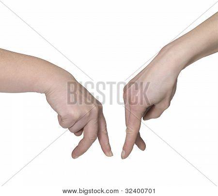 Symbolic Hands Meeting