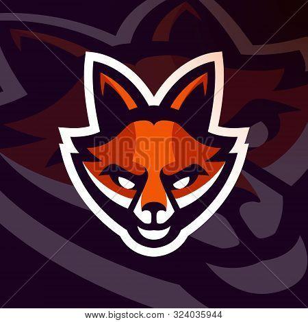 Fox Esport Gaming Mascot Emblem Premium Vector Logo Design