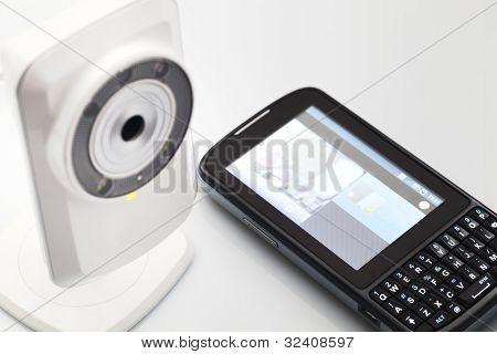 Network webcam