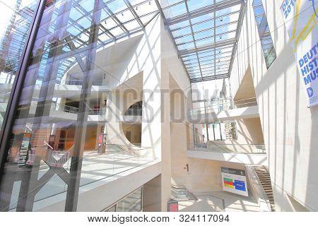 Berlin Germany - June 7, 2019: Deutsches Historisches Museum Berlin Germany
