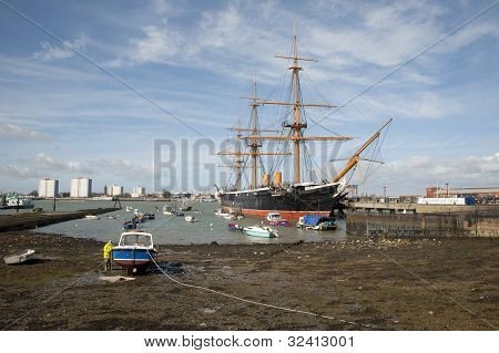 Warrior at Portsmouth