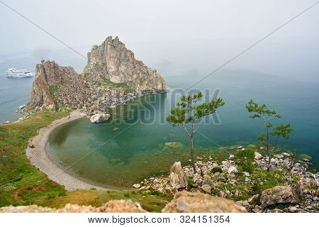 Lake Baikal. Olkhon Island In The Summer Shamanka