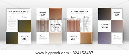 Flyer Layout. Business Elegant Template For Brochure, Annual Report, Magazine, Poster, Corporate Pre