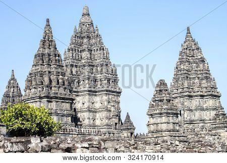 Sewu Buddhist Temple, Prambanan Temple ,yogyakarta, Java, Indonesia