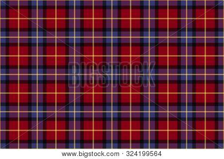 Aberdeen University Tartan. Seamless Pattern For Fabric, Kilts, Skirts, Plaids, Interior Decoration.