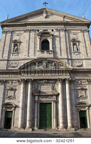 The Santa Maria in Vallicella church in Rome.