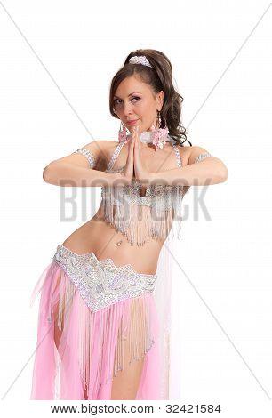 Beautiful bellydancer