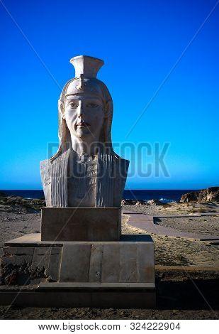 Statue Of Cleopatra At The Cleopatra Beach Near Mersa Matruh - Egypt