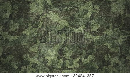 Texture Military Camouflage Army Green Hunting Illustration