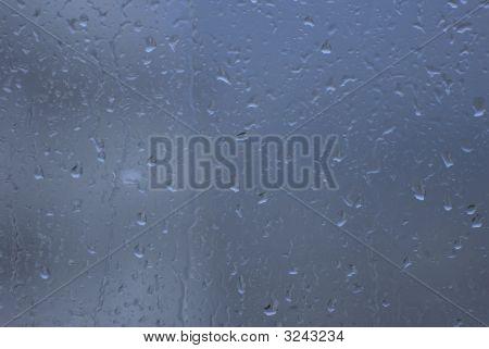Autumn Rain Waterdrops
