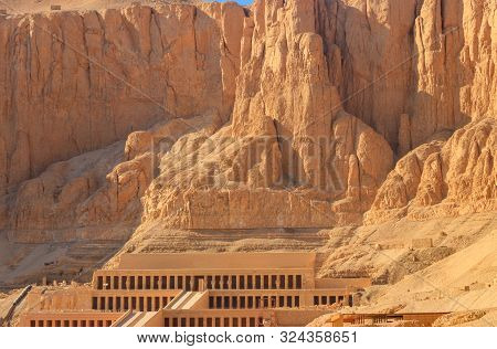 Mortuary Temple Of Hatshepsut In Luxor, Egypt